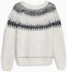 пушистый свитерок Next на 6-7лет