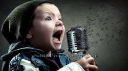 Уроки вокала для детей и взрослых на оборудованной студии
