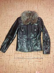 Кожаная куртка зима