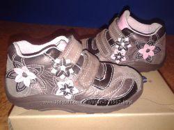 Ботинки кожаные 23р Stride Rite США
