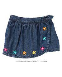 Шорты джинсовые Gymboree Crazy8 для девочки