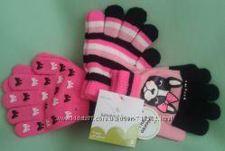 Яркие перчатки Jumping Beans из США комплект 3 пары