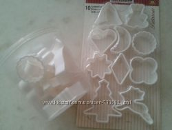 Формочки для печенья 10шт, пластик Fackelmann