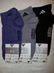 Женские спортивные короткие носки Adidas. в наличии. 6 пар, 2 модельки