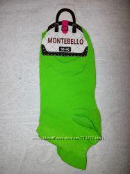 Женские короткие носки Монтебелло. 36-40 р. салатовые  в наличии. Турция