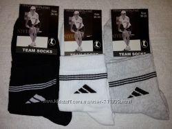 Женские  носки Adidas. Найк. 6 пар. 2 модели. в наличии