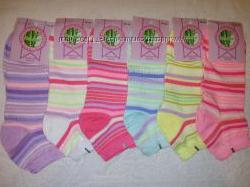 Женские короткие носки. 36-40 р. 6 пар. в наличии