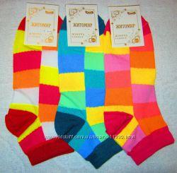 Женские укороченные носки Житомир. 23-25 р. в наличии