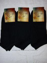 Женские короткие-патик носки PVS. 35-41 р. черные  в наличии
