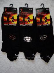 женские и подростковые спортивные короткие носки микрофибра Милано. Турция