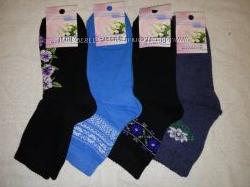 Женские махровые носки Смалий 23-25 р. асорти. в наличии