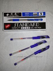 Ручка гелевая синяя. в наличии