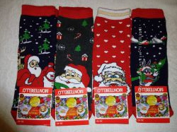 женские махровые носки Монтебелло. новогодние. Турция. асорти