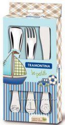 Детский набор столовых приборов Tramontina BABY Le Petit blue