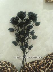 Кованный декор Букет роз