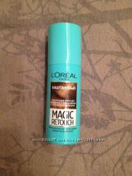 Magic Retouch краска спрей для маскировки седых корней