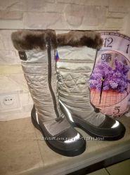 Зимние термосапожки для девочки Капика