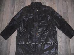 Добротная кожанная куртка
