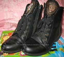 ботиночки Лео 33-34р. 21см для двора