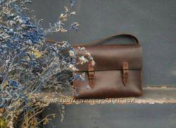 Крутая коричневая сумка, портфель