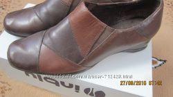 туфли из нат. кожи 38р. 5 англ.