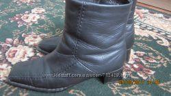 ботинки демисезонные 38р из нат. кожи