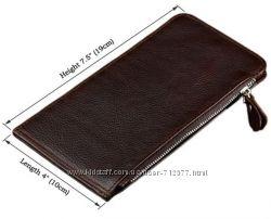Элитный бумажник кардхолдер на 22 карты натуральная кожа кошелек