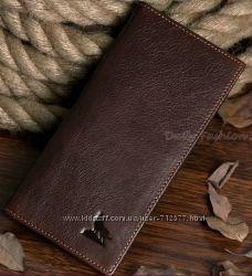 эксклюзивный кошелёк натуральная кожа портмоне бумажник волк