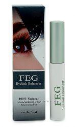 Сыворотка для ресниц Фег Feg Eyelash Enhancer Оригинал все степени защиты