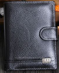 паспортный вместительный кошелёк натуральная кожа 14. 5 х 10, 5 см паспорт