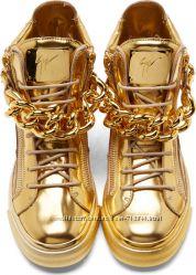 Модные Сникерсы  хайтопы унисекс Giuseppe Zanotti 40 размер