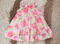 Платье фирмы Mothercare на 9-12мес