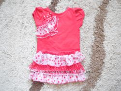 Комплект фуболка  юбка-шорты фирмы Nannette girls размер 4Т