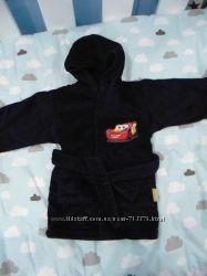 Теплый халат для мальчика с Маквином, 1-2 года