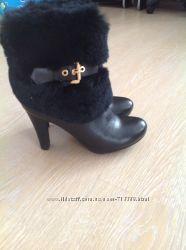 Ботинки кожа р. 38