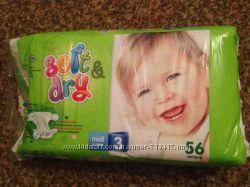 Подгузники Хелен Харпер Soft & Dry 3 размер
