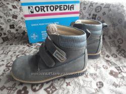 ORTOPEDIA зимние ботинки  на натур. меху с супинатором