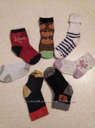 Фирменные носочки размер 19-22, на 1-3 года
