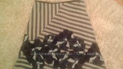 Котоновая стильная юбочка 12р европейский