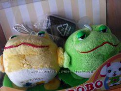 Колонки - мягкие игрушки Жабки Лягушки