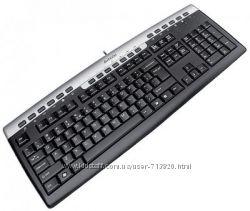 Мультимедийная  клавиатура USB A4tech