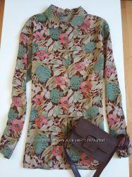 Блузка натуральная ткань Италия