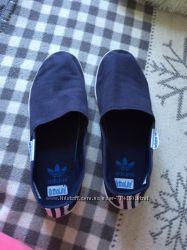 Мокасины кеды кросовки женские Adidas 38-й размер