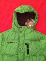 Фирменная куртка пуховик на мальчика 4 года Hawke&Co США