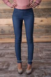 Джеггинсы, леггинсы под джинс. Размер S.