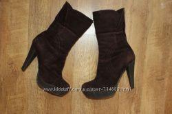Замшевые ботинки Braska