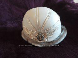 Шикарная шапка элегантная шляпа