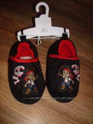 Тапочки детские домашние Джек Дисней оригинал 14 см стелька