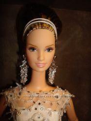 Коллекционная кукла Barbie Badgley Mischka Bride Дизайнерская невеста