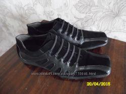 Туфли замшевые 45р.